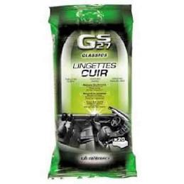 20 lingettes pour le cuir GS27
