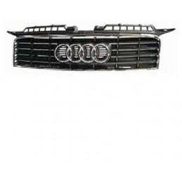 Grille de calandre Audi A3 3 portes Noir et contour Chromé