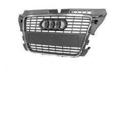 Grille de calandre Audi A3 Sans Pack Control NOIRE
