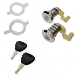 BF-92015 Lot de 2 serrures de porte avec clés Renault Clio2 Megane et Scenic 11,95 €