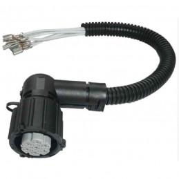 Cable, adapteur avec faisceau de feu arriere Citroen Fiat Peugeot