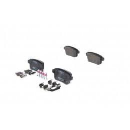 0986494331 Jeu de 4 plaquettes de frein arriere Bosch Renault Kangoo 1.5 1.6 34,90 €