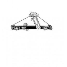 Leve vitre arrière gauche manuel BMW Série 1 E87