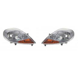 Pack 2 Phares, optique electrique avant droit gauche Nissan Primastar Opel Vivaro Renault Trafic 2