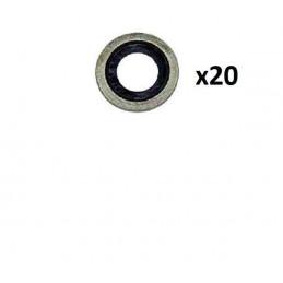 20 Joints caoutchouc Peugeot
