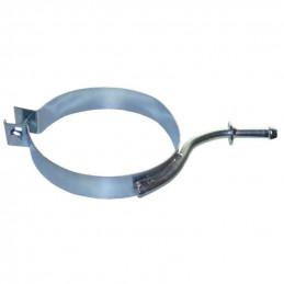 Support, anneau de fixation echappement metal Citroen C2 C3 Peugeot 1007