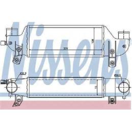 4881067 Intercooler, radiateur de turbo, échangeur d'air Ford Fiesta 4 Focus 145,00 €