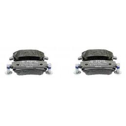 Jeu de 4 plaquettes de frein arriere BOSCH Audi Seat Skoda Vw