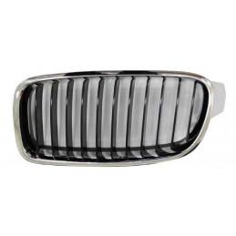 Grille de calandre avant gauche Bmw Série 3 Luxury GT F30/31 F34/35 Chromee