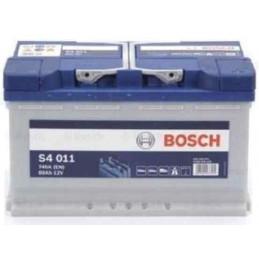 S4 011 Batterie 80ah 12V BOSCH Audi Bmw Chevrolet Ford Jeep Land Rover Mercedes Opel Porsche Renault Toyota Vw Volvo 149,90 €