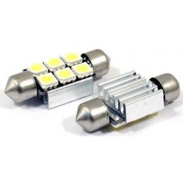 c5w 37mm 2 Ampoules Navettes à led effet Xenon c5w SMD 4,98 €