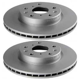 104735119 2 Disques de frein Avant EICHER Peugeot 407 508 607 74,90 €