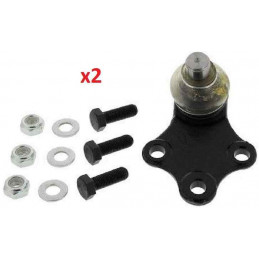 2 Rotules de suspension Peugeot 306 ph 2 diametre 18mm