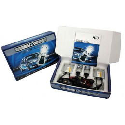 Kit xenon Camion H4 Bi 55w 24v 10000k Bleu violet