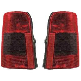 Pack 2 Feux arrières gauche droit Citroen Berlingo avec hayon de 07/96 à 12/05 Rouge