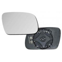 Glace rétroviseur extérieur droit chauffant avec support Peugeot 307 + sw + break