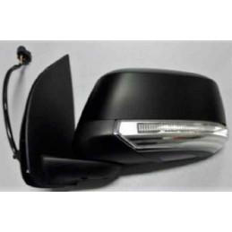 Rétroviseur extérieur noir electrique gauche Nissan Navara Type D40 de 01/10 à 11/15 a/feu