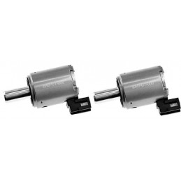 2 Electrovannes, electrovalves commande regulateur de pression hydraulique boite auto Citroen Dacia Peugeot Renault