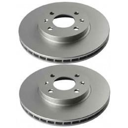 j3300324 Jeu de 2 disques de frein avant Hyundai Accent 3 i20 Kia Rio 2 41,90 €