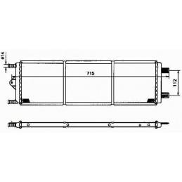 R11228 Radiateur moteur CITROËN XM PEUGEOT 605 149,00 €