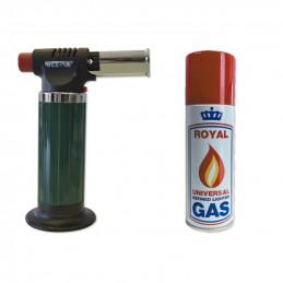 Chalumeau + gaz