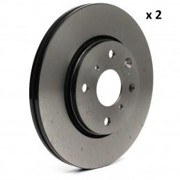 104545539 2 disques de frein avant EICHER Citroen C1 Peugeot 107 108 Toyota Aygo 45,90 €