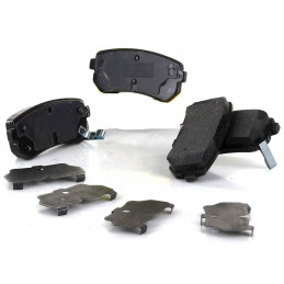 J3610512 Jeu de 4 plaquettes de frein arriere NIPPARTS Hyundai Accent i20 i30 Kia Cee'd Rio 2 Sportage 21,90 €