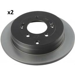 J3310514 Jeu de 2 disques de frein arrière NIPPARTS Hyundai Grandeur Kia Oprius 62,40 €