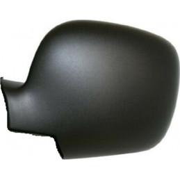 Coquille noir de retroviseur gauche