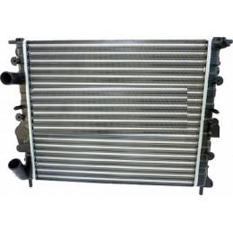 Radiateur moteur, radiateur d'eau NISSENS pour Nissan Kubistar Renault Kangoo