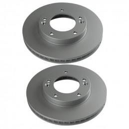Jeu de 2 disques de frein avant NIPPARTS pour Kia Sorento 1