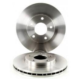 Jeu de 2 disques de frein avant NIPPARTS pour Nissan Almera Tino Maxima X-Trail Primera