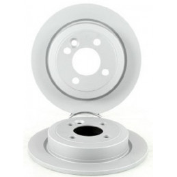 Jeu de 2 disques de frein arriere EICHER pour Mini R52 R53 R55 R56 R57 R58 R59 Plein