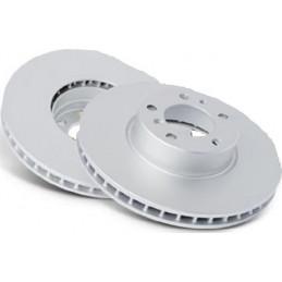 Jeu de 2 disques de frein avant NIPPARTS pour Hyundai i20