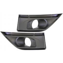 Jeu enjoliveur phares additionnels pour Citroen C4 Grand Picasso de 2006 à 2013