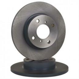 Jeu de 2 disques de frein avant BOSCH pour Opel Agila Suzuki Wagon R