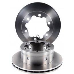 104220649 Jeu 2 disques de frein arrière ventilés EICHER pour Vw Lt Mercedes Sprinter 54,00 €