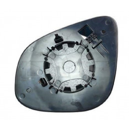 Glace, verre rétroviseur extérieur droit avec support pour Mercedes Citan Renault Kangoo 2