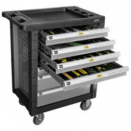 53661 Servante d'outils 7 Tiroirs - Gris AVEC OUTILS 672,80 €