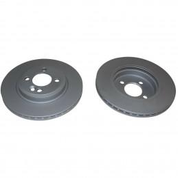 Jeu de 2 disques de frein avant EICHER pour Mini R50 R52 R53 One Cooper et Cooper S