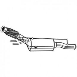 Filtre à particules, FAP pour Citroen C4 DS5 Peugeot 5008