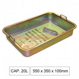 51356 BAC DE RECUPERATION 600 x 400 x 110mm Capacité 23L 43,70 €