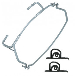 Kit support fixation montage Silencieux arrière avec silent bloc pour Mini Cooper
