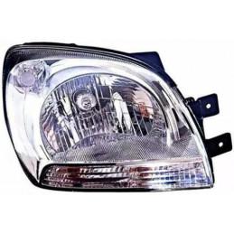 Optique, phare avant droit H4 Electrique pour Kia Sportage de 10/04 à 03/08
