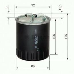 Filtre à carburant BOSCH pour Chysler Mercedes Classe A B C E M S CLK CLS Mitsubishi Colt Sprinter Viano Vito Smart Forfour