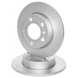 Jeu de 2 disques de frein arriere Bmw Série5 E60 E61 Série6 E63 E64
