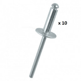10878 *10 10 RIVETS 4.8X24.8MM 2,00 €
