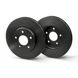 Jeu de 2 disques de frein arrière EICHER pour Fiat Croma Hyundai Grand Santa Opel Vectra Signum Saab 9-3