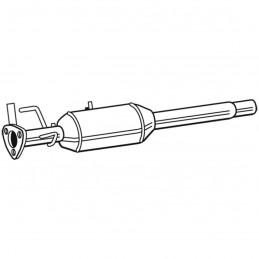 Filtre à particules / FAP (fap) pour Citroen Jumper Peugeot Boxer