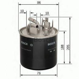 Filtre à carburant BOSCH pour Audi A6 3.0 2.7 Tdi
